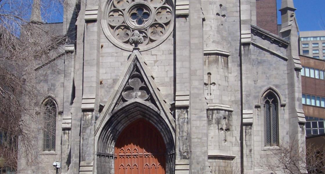 Ce-a rămas din catedrala  Saint-Jacques la intersecția dintre Saint-Denis și Sainte-Catherine